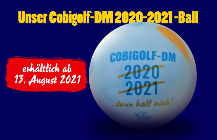 Der Minigolfball zur abgesagten DM 20/21 ist erhältlich!